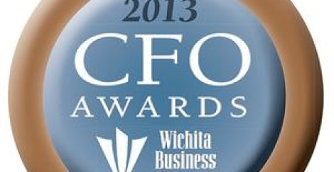 2013 WICHITA BUSINESS JOURNAL CFO AWARDS….CONGRATULATIONS STEVE SMITH