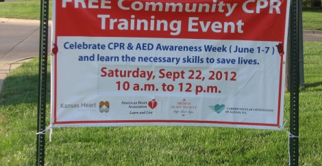Free CPR training, blood pressure checks Saturday at Kansas Heart Hospital